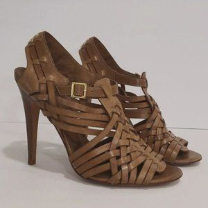 Tory Burch Nadia Huarache Leather Sandals